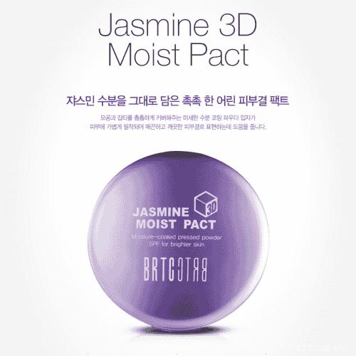 PHẤN PHỦ DẠNG NÉN DƯỠNG TRẮNG BRTC JASMINE 3D MOIST PACT